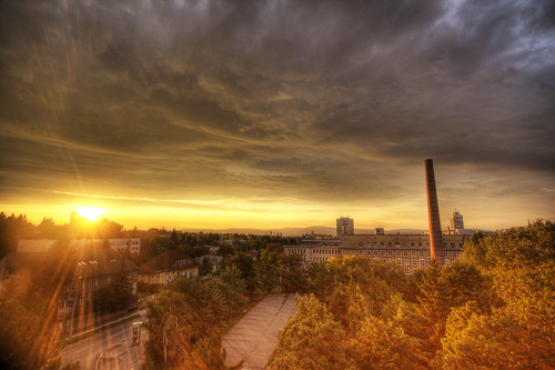 sunset hungary naplemente magyarország veszprém pannonegyetem