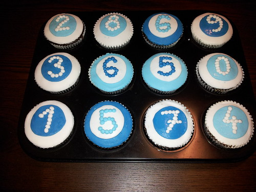 Narozeninove cupcakes