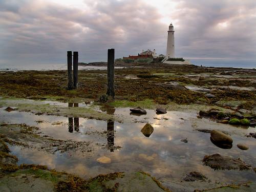 summer lighthouse sunrise canon summertime stmarys whitleybay coastaluk pd1001 sx10is pauldowning summertimeuk welcomeuk