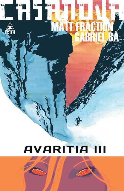 CASANOVA - AVARITIA III cover