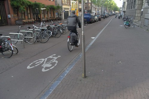 Carril Bici urbano.