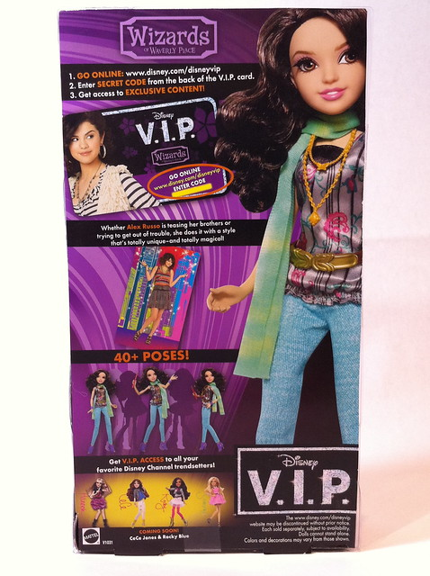 Disney+Vip+Dolls Disney VIP Aex Russo Doll | Flickr - Photo Sharing!