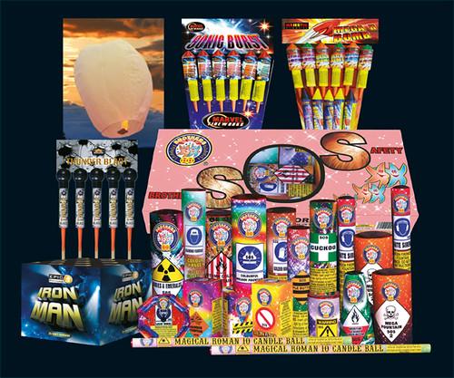 Epic Fireworks 2011 Display Packs - Plot Night Firework Pack