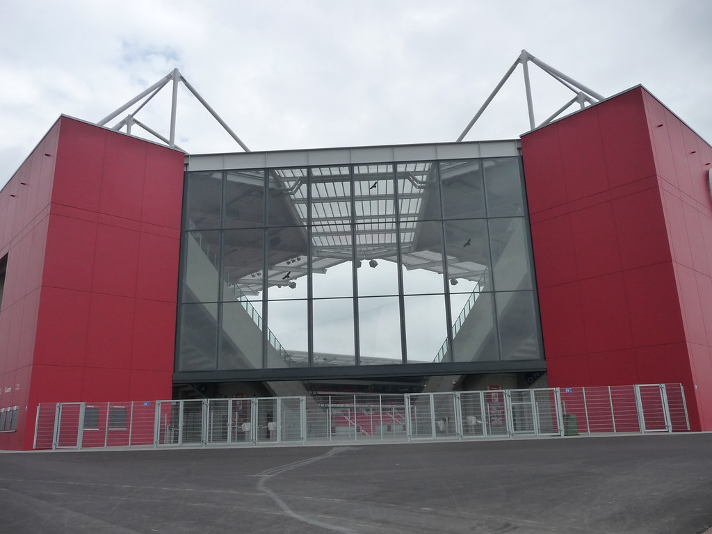 Mainz Neues Stadion in der Eugen Salomon Straße | Martin