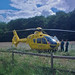 Small photo of Air Ambulance on Long Causeway