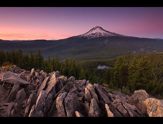 Mt. Hood sunset..