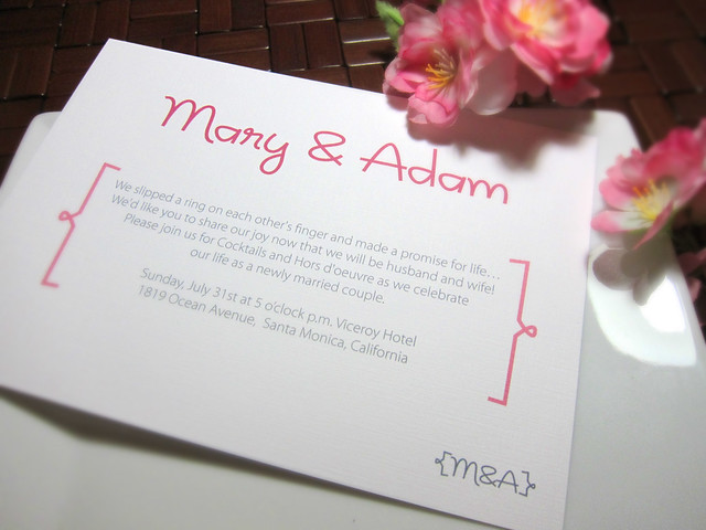 Sweetheart Wedding Invitation Response Card