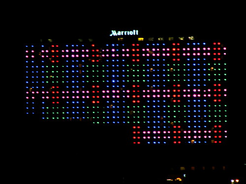Marriott at night KC