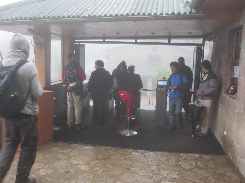 Machu Picchu Peru Turnstiles