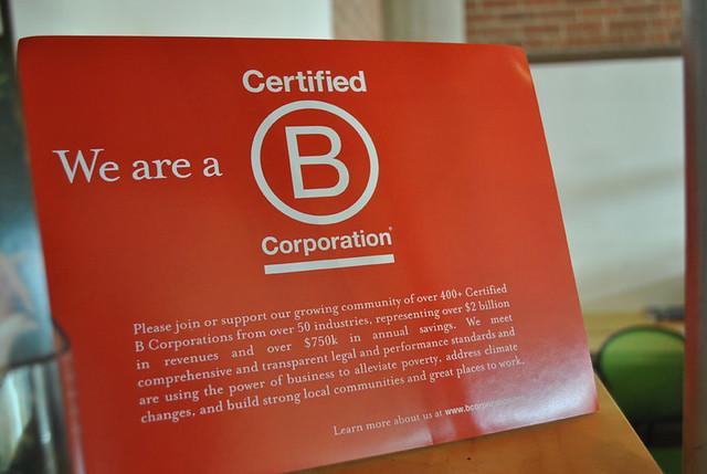 B-Corp Certified
