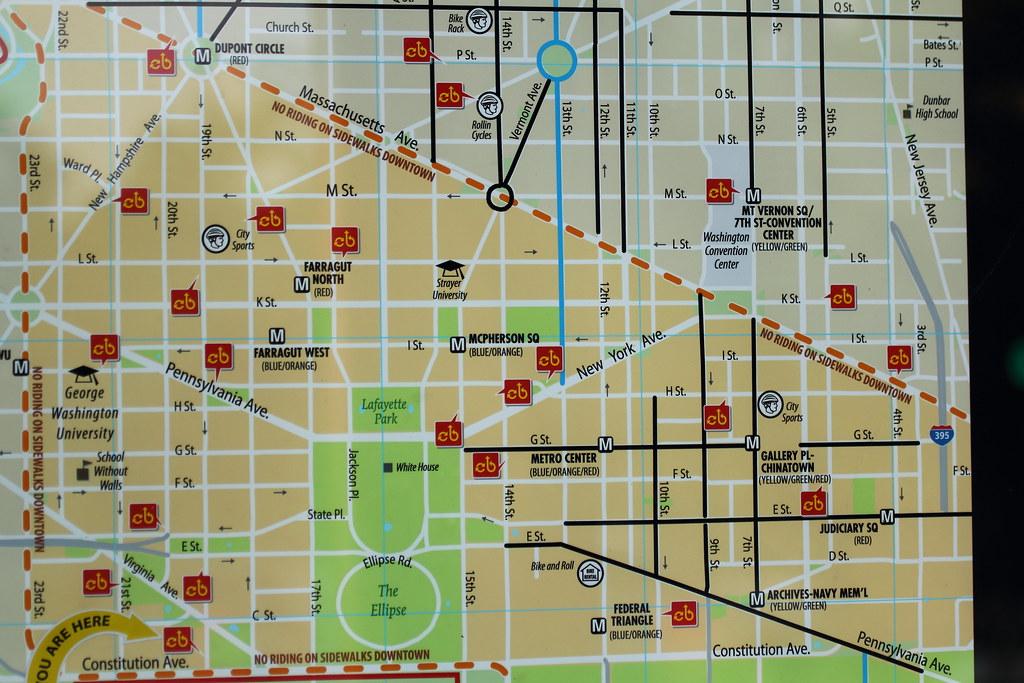 Capital Bikeshare Map Flickr Photo