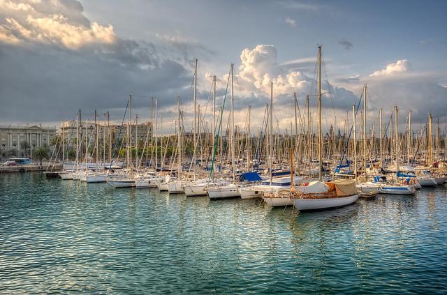 Port – Puerto, Barcelona (Spain), HDR