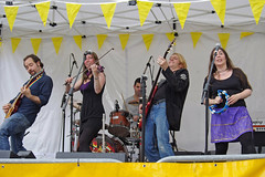Rock on - Mary Jane band at Beggars' Fair by Ian D Nolan