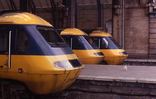12.04.81 Kings Cross Class 254 HSTs