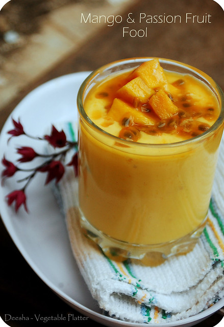 Mango & Passion Fruit Fool