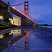 golden gate bridge: early blues