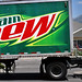 mountain dew soda truck in af 2