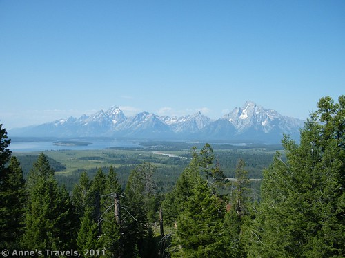 Views from near Grand View Point in Grand Teton National Park, Wyoming