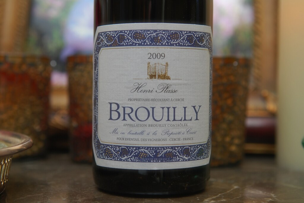 Tasting Henri Plasse 2009 Brouilly #Beaujolais (Pic+Notes)