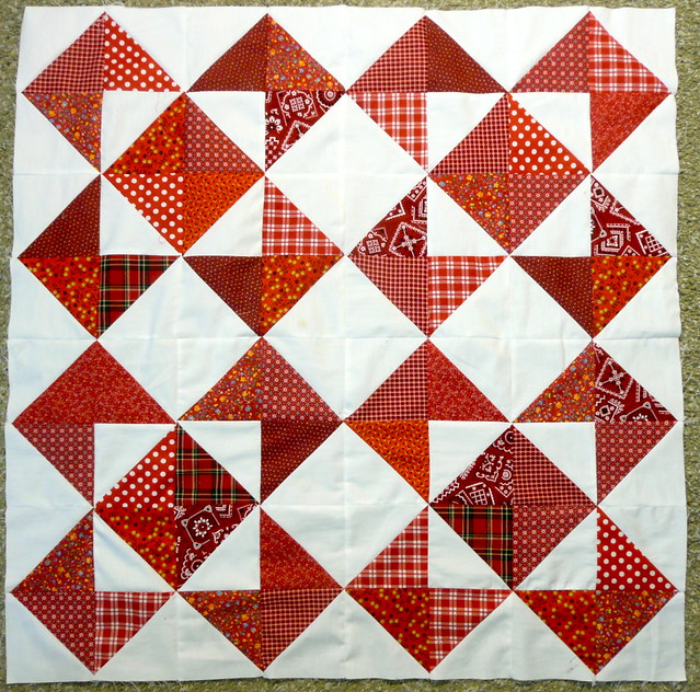 Quilt Patterns Using Squares And Triangles : Half Square Triangle Quilt Blocks Flickr - Photo Sharing!