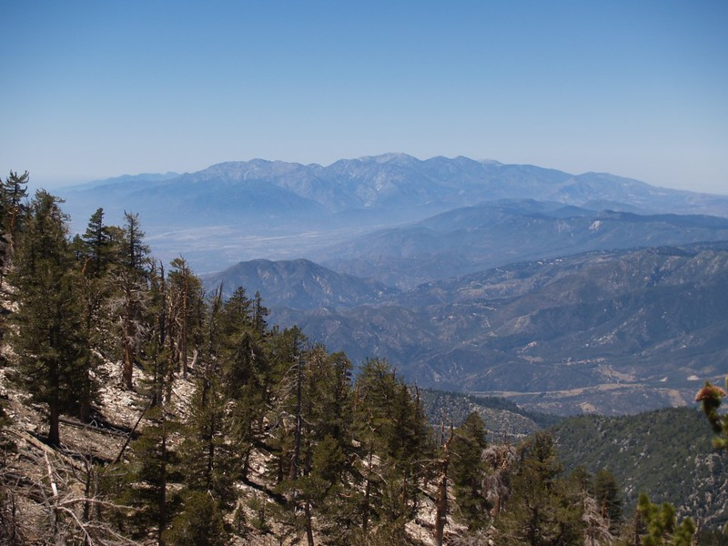 Mt. Baldy from the San Bernardino Peak Trail