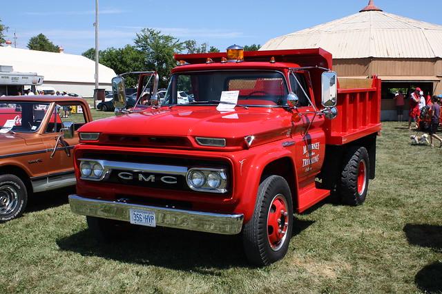 1962 gmc 4000 dump truck