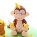 Cheeky Monkey!! by Little Cottage Cupcakes