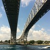 One of my fav places - the Bluewater Bridge. (Untouched photo).