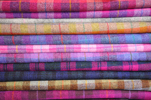 Harris Tweed - Pinks & Purples