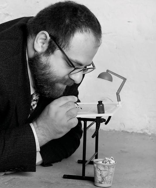 Fantagraphics artist Ivan Brunetti