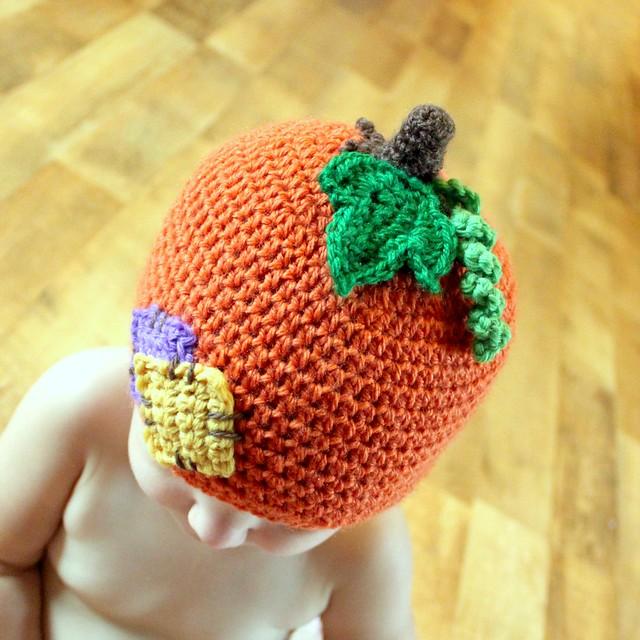 LilPumpkin Patch Hat Crochet Pattern - a photo on Flickriver