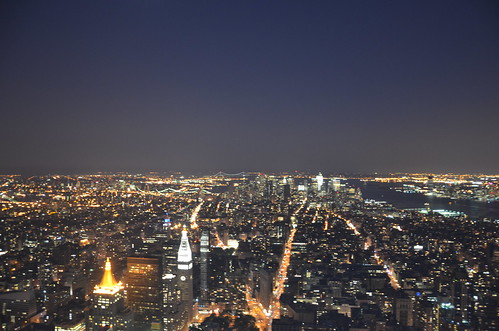 View from Empire State Building - New York City, July 2011