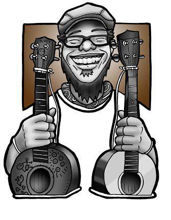 Todd Baio Bari Uke Cartoon by Humble J