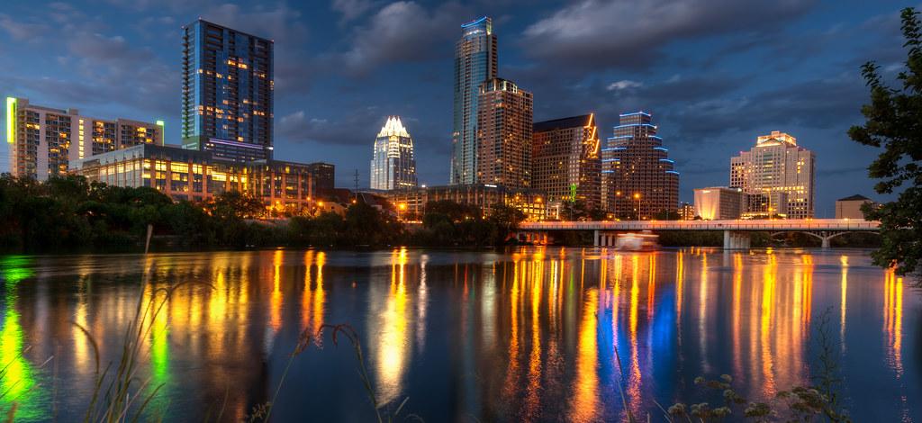 Blue Hour Skyline, Austin