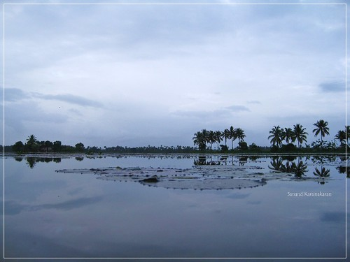 blue sky india water landscape kerala backwaters kuttanad sanandkarun sanandkarunakaran