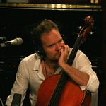 Diego Garcia performance and interview with John Platt, live in Studio-A on August 9, 2011. Photo by Alex Erker.