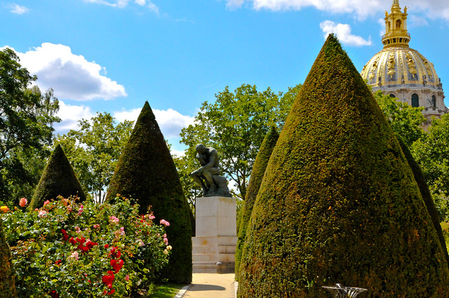 Mus e rodin gardens and the thinker sculpture paris for Jarden france