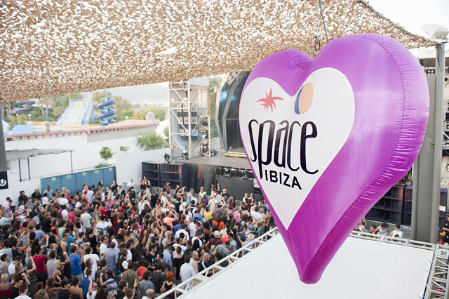 Space Ibiza Closing Fiesta, October 2011