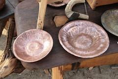 Kupferarbeiten von Niels Bargheer in Haithabu - Museumsfreifläche Wikinger Museum Haithabu WHH 25-09-2011