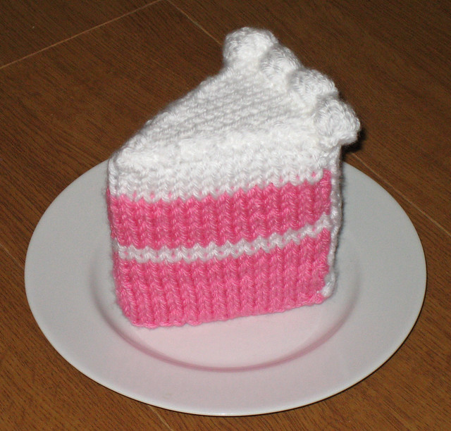 Cake Knitting Patterns : knitted cake Flickr - Photo Sharing!