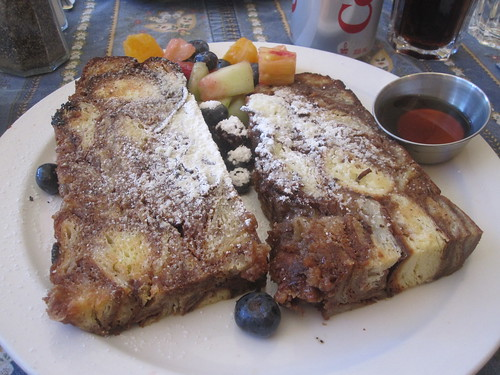 cinnamon french toast at Bonjour Brioche