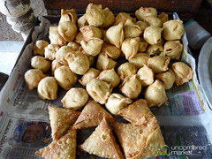 Samosas and Singara as Snacks - Bandarban, Bangladesh