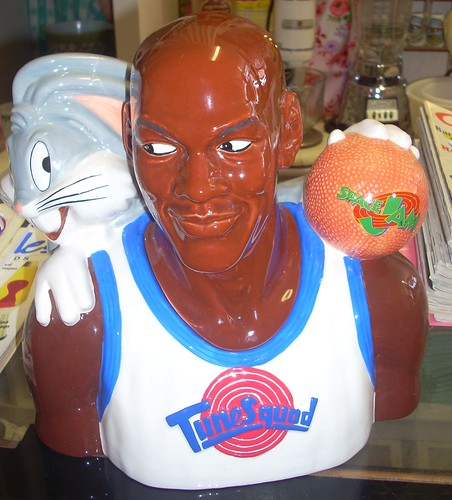 Michael Jordan Space Jam cookie jar
