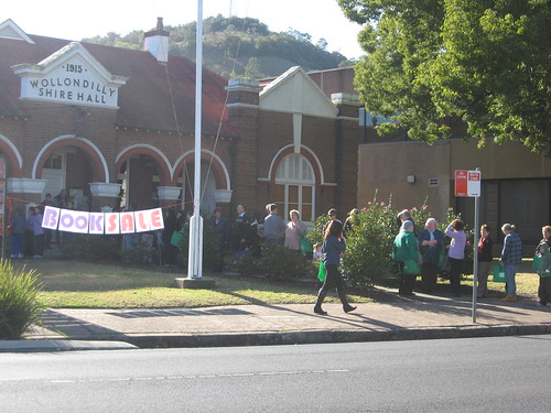 Wollondilly Library booksale July 2011