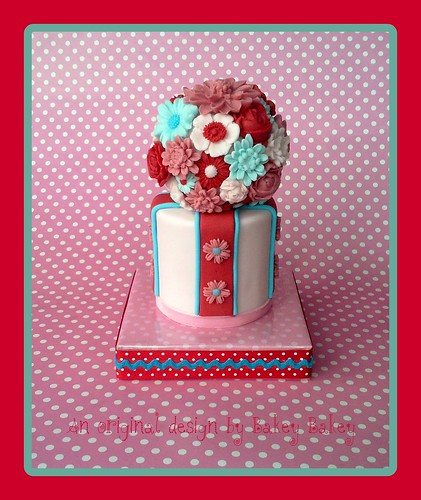Bakey Bakey Posy Cake
