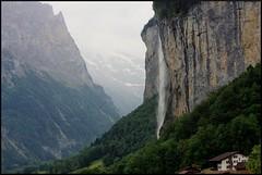 Staubbach Falls near Lauterbrunnen