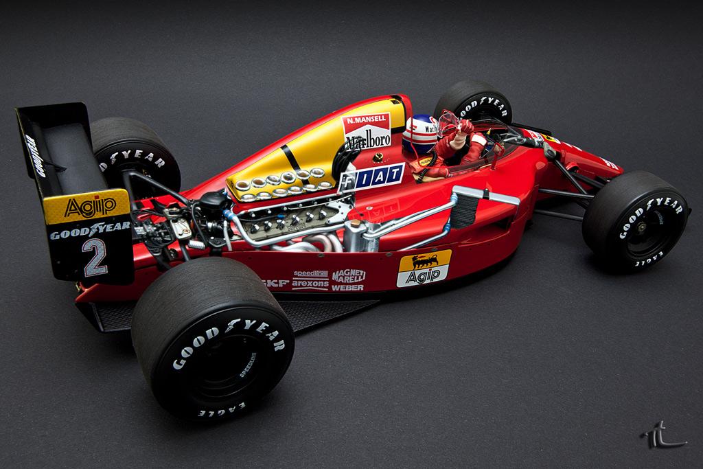 1 18 Ferrari 641 2 1990 A Prost Exoto Dx Motorsports