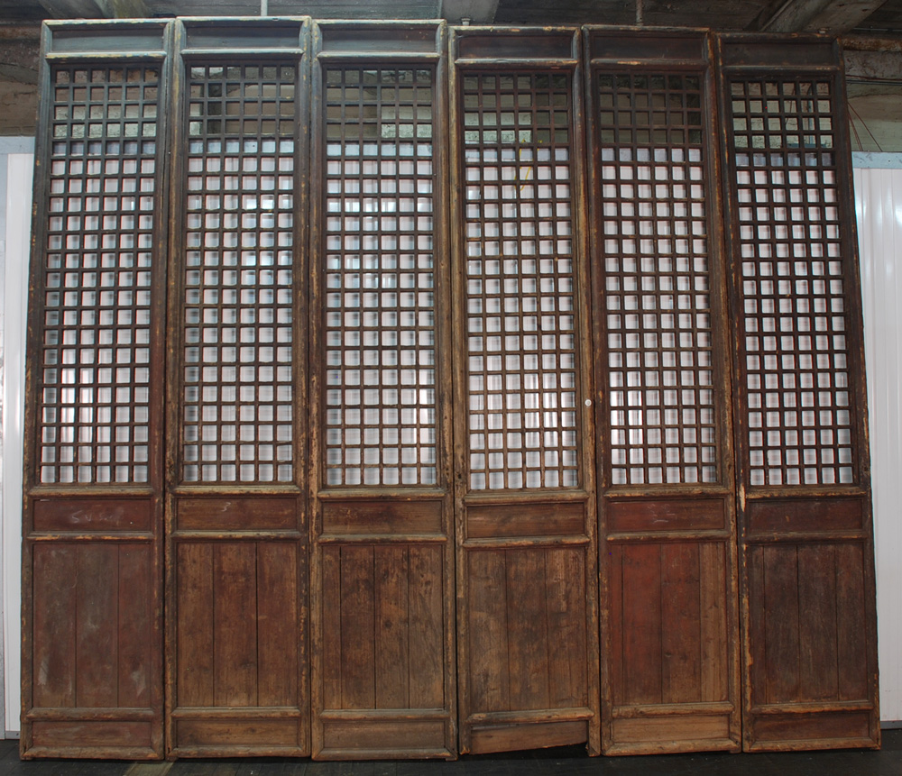 Wood Room Dividers Filigree Fixed Panels