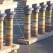 Small photo of Aida set - columns