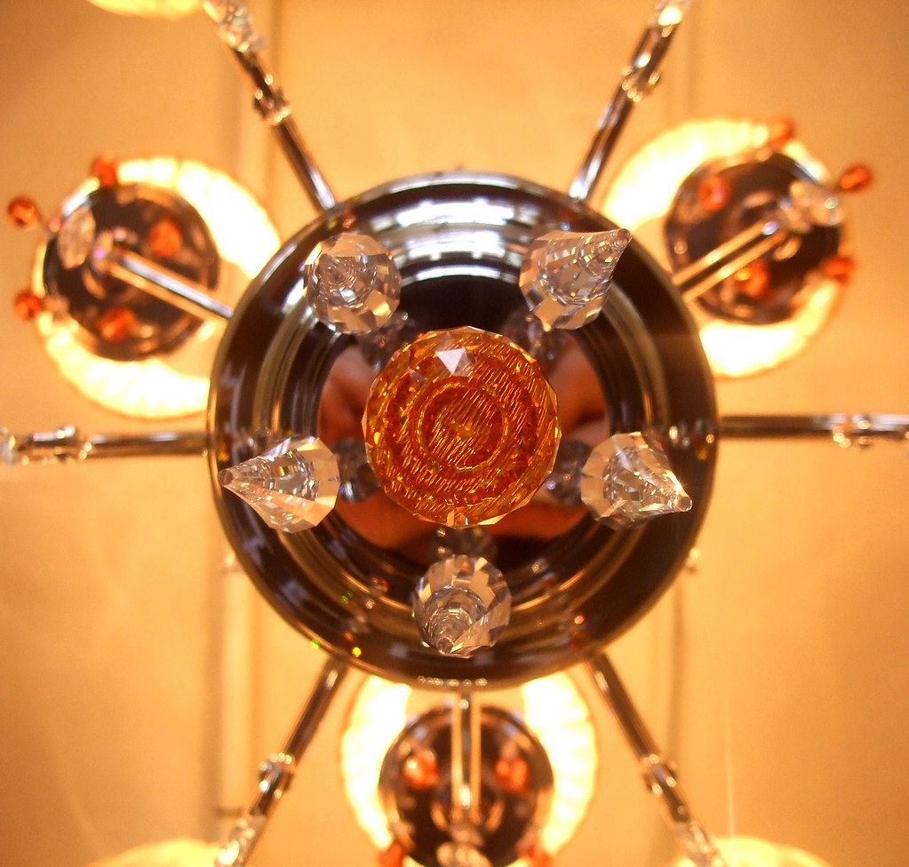 Chandelier at Andy Thornton Ltd.